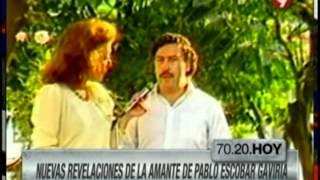 La historia Virginia Vallejo y Pablo Escobar