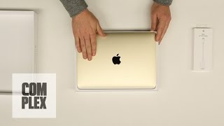 New Apple Macbook Gold Unboxing and Review