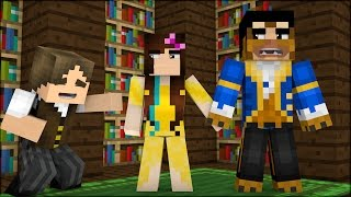 Minecraft: A BELA E A FERA LEGENDARY! BUILDÃO COM YOUTUBERS! 10 (BUILD BATTLE)