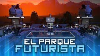 getlinkyoutube.com-FANTASYGUSTA: EL PARQUE FUTURISTA ✮ Planet Coaster | iTownGamePlay