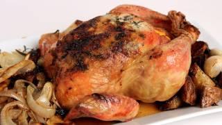 getlinkyoutube.com-Whole Roast Chicken Recipe - Laura Vitale - Laura in the Kitchen Episode 302