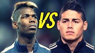 getlinkyoutube.com-James Rodriguez Vs Paul Pogba - Who scores the Best Goals ? | Crazy Goals Show 1080 HD