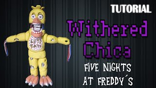 getlinkyoutube.com-Tutorial Withered/Old Chica en Plastilina / FNaF / How to make a Withered/Old Chica with Clay