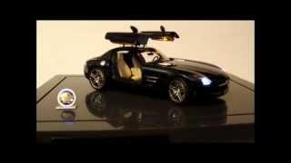 getlinkyoutube.com-Mercedes-Benz AMG SLS Premium ClassiXXs 1:12 LED SMD Light System Tuning Umbau Diecast Custom