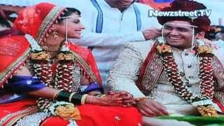 getlinkyoutube.com-Saath Nibhana Saathiya | Rashi aka Rucha | gets married with long time beau Rahul 2