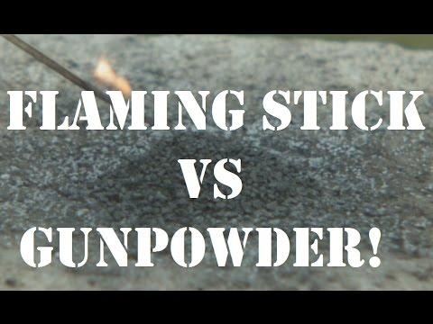 Gunpowder Fire Extinguisher?