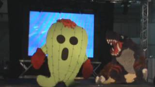 getlinkyoutube.com-Anime Friends 2011 - Ycc Tradicional Digimon Tamers Lilimon