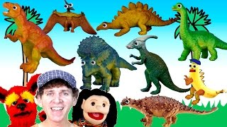 getlinkyoutube.com-What Do You See? Song | Dinosaurs | Learn English Kids