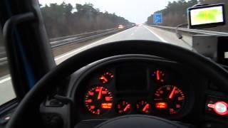 NASIEROWSKI - Pierwsza samodzielna trasa ciężarówką