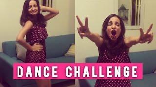 getlinkyoutube.com-WOW! Sanaya Irani Completes Mouni Roy's Dance CHALLENGE   Tum Bin 2   Nachna Aaonda Nahin