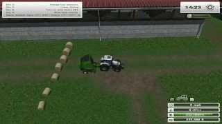 getlinkyoutube.com-FARM SIM SATURDAY testing out bailers