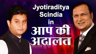getlinkyoutube.com-Jyotiraditya Madhavrao Scindia In Aap Ki Adalat (Full Episode) | India TV