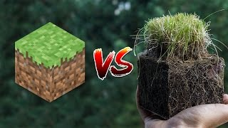 getlinkyoutube.com-Minecraft vs Real Life