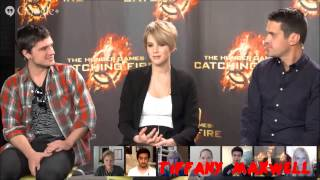 getlinkyoutube.com-Jennifer Lawrence & Josh Hutcherson - Favourite Moments