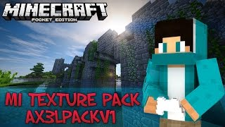 getlinkyoutube.com-Ax3lP4ck  v1 || La Mejor Textura PVP Para Minecraft PE 0.11.1 || Texturas Para Minecraft PE 0.11.X