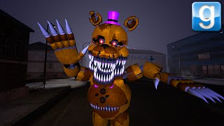 getlinkyoutube.com-Nightmare FREDBEAR GENESIS | Gmod Sandbox Story