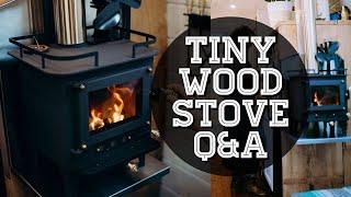 getlinkyoutube.com-Heating in a Tiny House - Cubic Mini Wood Stove Review | TINY HOUSE TALK