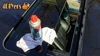 DIY: Sunroof Maintenance Tips