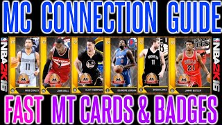 getlinkyoutube.com-NBA 2K16 - GET ALL CONNECTIONS FAST | MY CAREER CONNECTIONS & BADGES GUIDE