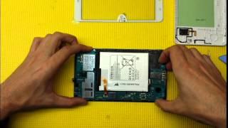 getlinkyoutube.com-Samsung Galaxy TAB 4 - SM T230 Reparar pantalla táctil o digitalizador (Replacement Touchscreen)