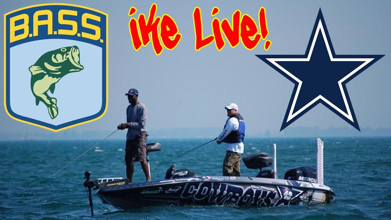 Bass fishing pro dallas cowboy gerald sensabaugh bass for Dallas cowboys fishing shirt
