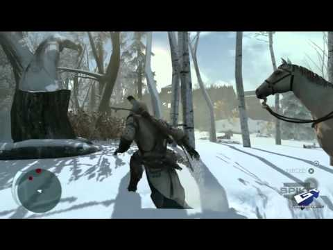 Assassin's Creed III - E3 2012: Hunting Gameplay Demo