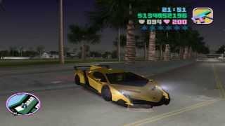getlinkyoutube.com-GTA Vice City mod Lamborghini Veneno