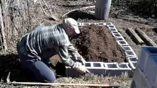 getlinkyoutube.com-Raised bed garden for vegetables in 25 minutes