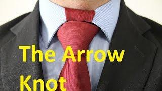 getlinkyoutube.com-How To Tie a Tie Arrow Knot
