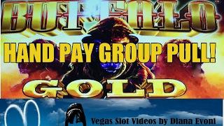 getlinkyoutube.com-HANDPAY! VF GROUP PULL- BUFFALO GOLD SLOT MACHINE