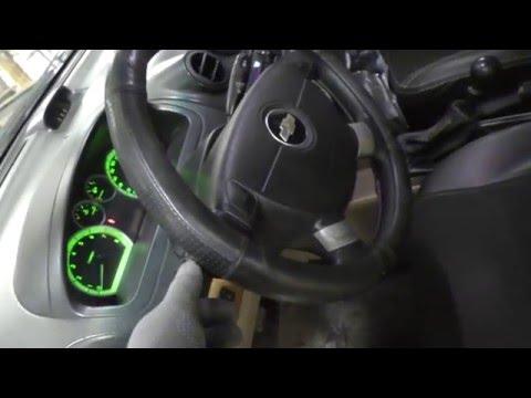 Как отключить зуммер забытого ключа Chevrolet Aveo.