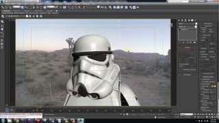 getlinkyoutube.com-Speed Modelling a Stormtrooper Helmet (WIP)