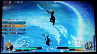 getlinkyoutube.com-Final Fantasy Dissidia Duodecim 012- Cloud vs Sephiroth - Gameplay PSP [HD]