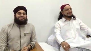 Hafiz Ahmad Raza Qadri visited Aastana Aaliya Kallar Syeddan width=