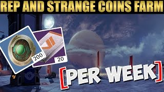 How to Farm 200 Strange Coins and 20 Faction Package per Week!