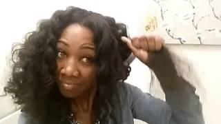 getlinkyoutube.com-How to: Creating Big Wand Curls on Marley Hair