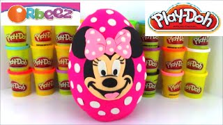 Orbeez Giant Minnie Mouse Play Doh Surprise Egg Huevos Sorpresa