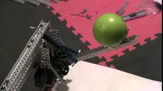 getlinkyoutube.com-Wingus & Dingus 7682 Rotational choo-choo catapult VEX NbN