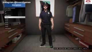 getlinkyoutube.com-قراند 5 │ قلتش تجيب لبس الشرطة │(شغال) GTA V