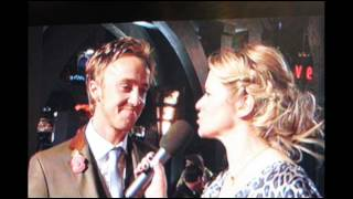 Deathly Hallows Pt.1 Press Conference with Tom Felton in London