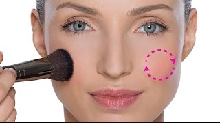 getlinkyoutube.com-DO NOT APPLY BLUSHER TO THE APPLES OF THE CHEEKS!!!!