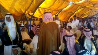 الشيخ حامد بن عبدالله الماجد السعدون في مشية بني طرف