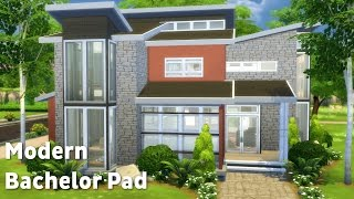 The Sims 4: House Building - Modern Bachelor
