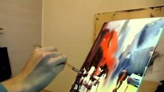 getlinkyoutube.com-Learning from Alvaro Castagnet Watercolor Painting