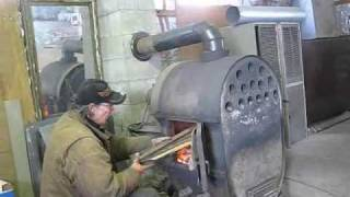 getlinkyoutube.com-Mikes ratrod wood stove shop stove
