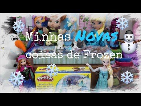 Minhas Novas Coisas de Frozen #juliasilva