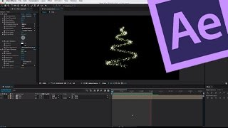 getlinkyoutube.com-After Effects Tutorial: Particle Christmas Tree