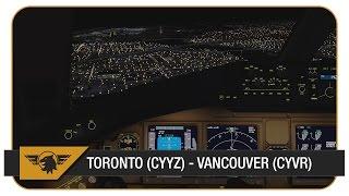 getlinkyoutube.com-[Prepar3D v3] ACA33   Toronto (CYYZ) - Vancouver (CYVR)   PMDG 777-200LR   VATSIM   Air Canada