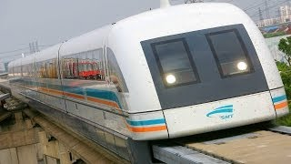 "getlinkyoutube.com-WORLDS FASTEST TRAINS - MAGLEV ""capable"" of 3,500 km/h"