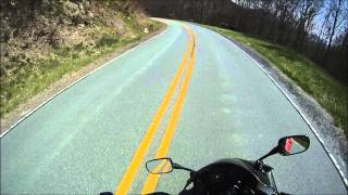 getlinkyoutube.com-Going up and over Roan Mountain - TN 143/NC 261